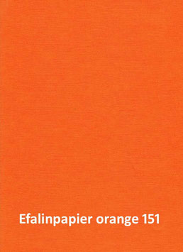 Efalinpapier orange 70 cm x 50 cm