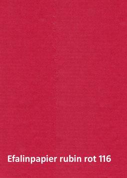 Efalinpapier rubin rot 70 cm x 50 cm, Gewicht: 120 g/m²