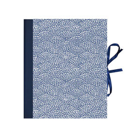 Ringordner 2cm breit, Carta Varese Papier Hölzer blau