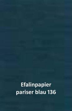 Efalinpapier pariser blau 70 cm x 50 cm, Gewicht: 120 g/m²