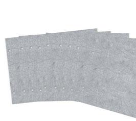 Zusatzpaket , 10 Blätter Spinnenpapier  , für kleine Fotoalben, Querformat.zweifach gelocht