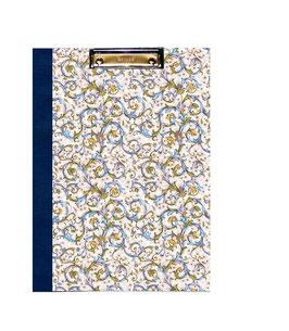 Klemmbrett Mappe DinA4 , Florentiner Papier antique