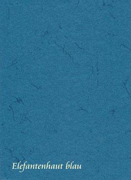 Elefantenhautpapier 35 x 50 cm blau