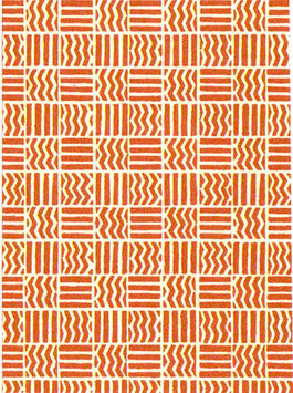 Italienisches Papier Carta Varese  / Buntpapier,Muster Quadrate rot