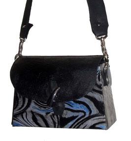 Designerhandtasche Zebra