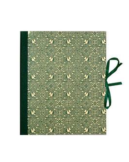 Ringbuchordner für DinA4 Vögel grün, 3 cm breit