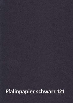 Efalinpapier schwarz 70 cm x 50 cm, Gewicht: 120 g/m²