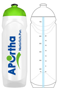 APOrtha® Trinkflasche 750 ml BPA frei