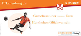 Gutschein FCLauenburg.de über 25 Euro