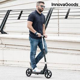 InnovaGoods Pro Klappbarer Tretroller mit 2 Rädern