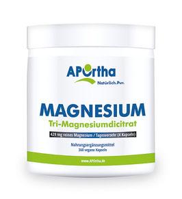 Tri-Magnesiumdicitrat Magnesium 360 Kapseln