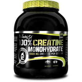 BioTech Creatine Monohydrate Dose 500g