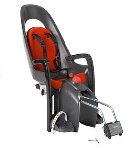 Hamax Fahrradsitz grau/rot