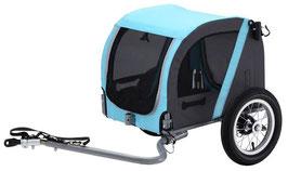 Vantly Fahrradanhänger für Hunde 20 Zoll Hellblau/Anthrazit