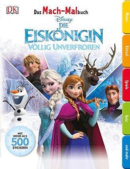 Das Mach-Malbuch. Disney Die Eiskönigin