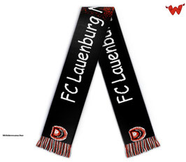 """Schal """"FC Lauenburg Nachwuchskicker"""" mit Logo"""