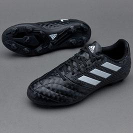 adidas Kids ACE 17.4 FG - Schwarz/Weiß incl. FCL Initialien