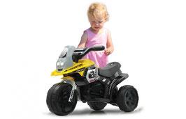 Ride-on E-Trike Racer 6V gelb, rot oder pink
