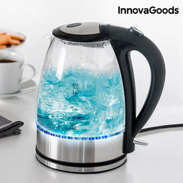 InnovaGoods Kitchen Foodies LED Wasserkocher