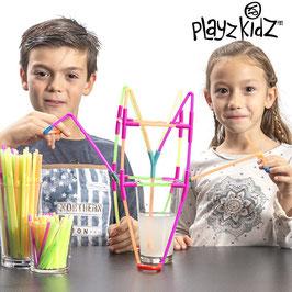 Playz Kidz Strohhalmspiel (194 Teile)