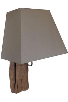 Wandlampe mit Schirm Höhe 60cm