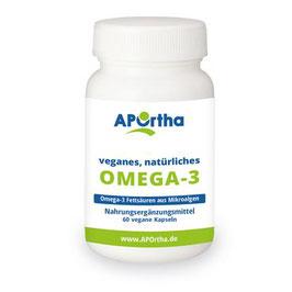Omega 3 Kapseln mit veganem Algenöl 60 vegane Kapseln