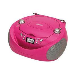 Radio mit CD-Laufwerk Daewoo DBF106 Rosa