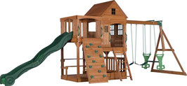 Backyard Discovery Spielhaus Hill Crest 537x409x290 cm hell