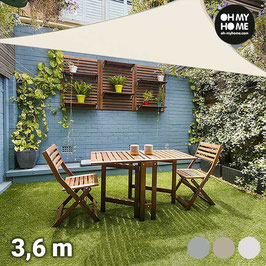 Oh My Home Ambiance Dreieck-Sonnensegel (3,6 Meter)!
