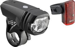 AXA Beleuchtung Greenline 50 Batterie - LED schwarz - über USB aufladbar