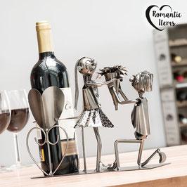 Weinständer aus Metall - verschiedene Versionen