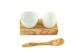 Eierhalter Troué PLUS aus Olivenholz