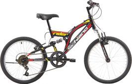 Schiano Rider Eco 20 Zoll Jungen 6G Felgenbremse Anthrazit/Grün oder Schwarz/Rot