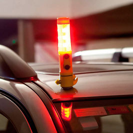 Multifunktions-LED-Taschenlampe mit Notfallzubehör