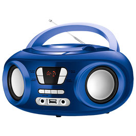 "adio/CD Bluetooth + mp3 9"" BRIGMTON W-501 USB Blau"
