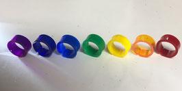 指輪7色セット R-4