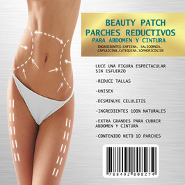 PARCHES REDUCTIVOS SLIM PATCH CON 10 PIEZAS