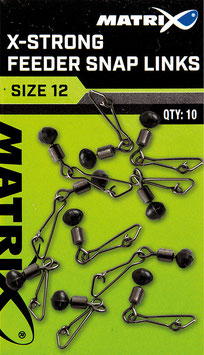Matrix X-Strong Feeder Bead Snap Links