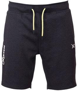 Matrix Minimal Black Marl Jogger Shorts
