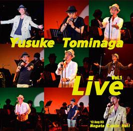 【CD】Yusuke Tominaga Live Vol.1