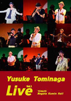 【DVD】Yusuke Tominaga Live Vol.1