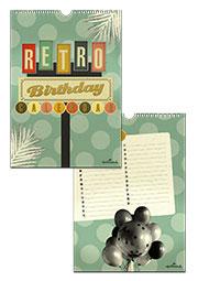 Verjaardagskalender Hallmark 'Retro'