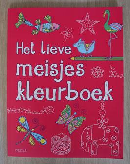 Deltas 'Het Lieve Meisjes Kleurboek'