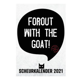 Scheurkalender Forout With the Goat 2021