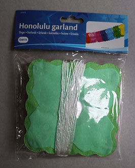 Slinger 'Honolulu Garland', 11 cm hoog, 6 meter lang