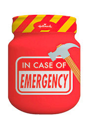 Spaarpot 'In Case of Emmergency'