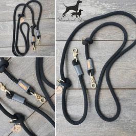 Hundeleine Blackline mit Grau