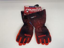 Reusch Maxi black/fire red