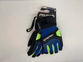 Reusch Torby imperial blue/neon green