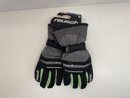 Reusch Bolt black/black melange/neon green